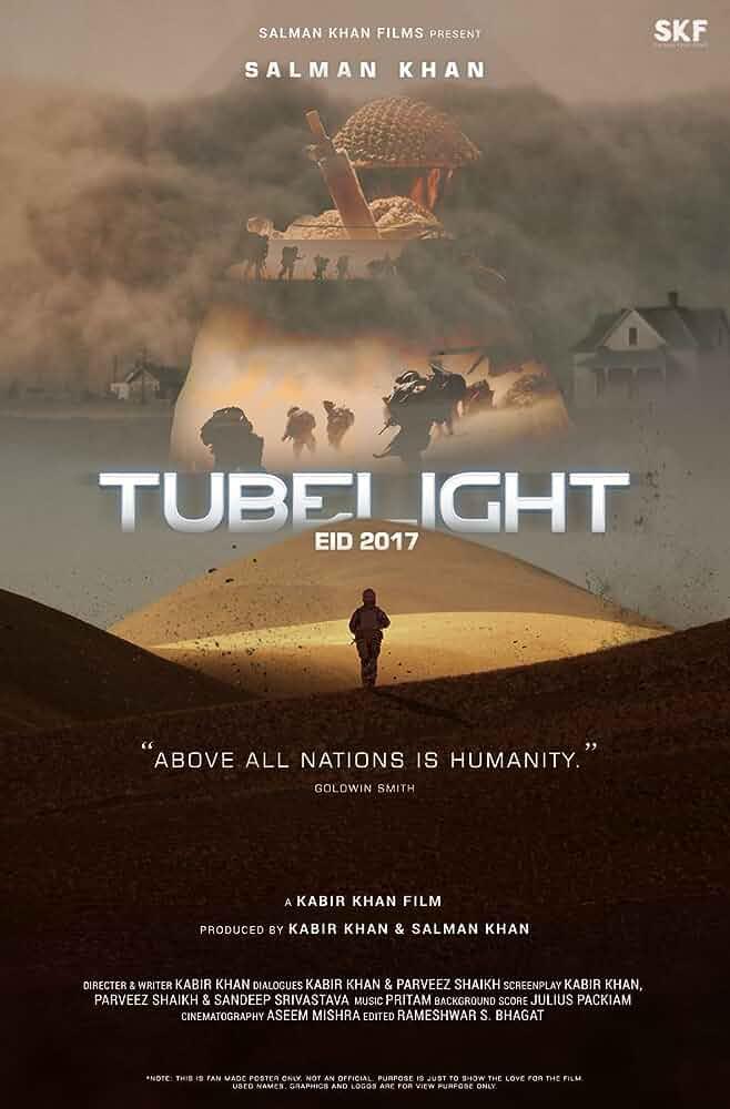 Tubelight 2017 Hindi 700MB DVDScr x264