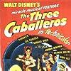 Sterling Holloway, Joaquin Garay, Dora Luz, Aurora Miranda, Carmen Molina, and Clarence Nash in The Three Caballeros (1944)