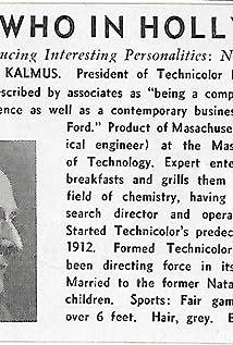 Herbert T. Kalmus Picture