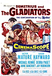 Demetrius and the Gladiators (1954) Poster - Movie Forum, Cast, Reviews