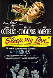 Sleep, My Love (1948) Poster - Movie Forum, Cast, Reviews