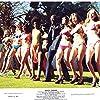 Isaac Hayes, Tara Strohmeier, Lisa Farringer, Dernadette Gladden, Edna Richardson, and Cheryl Sampson in Truck Turner (1974)