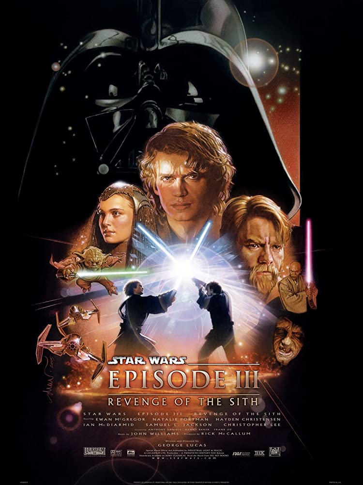 Star Wars: Episode II - Attack of the Clones (2002) & Star Wars: Episode III - Revenge of the Sith (2005) MV5BNTc4MTc3NTQ5OF5BMl5BanBnXkFtZTcwOTg0NjI4NA@@._V1_SY1000_SX750_AL_