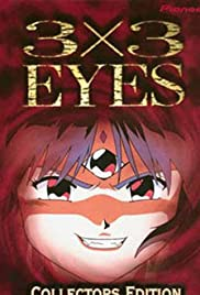 3x3 Eyes: Legend of the Divine Demon Poster
