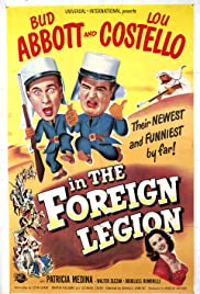 Abbott and Costello in the Foreign Legion (1950) Poster - Movie Forum, Cast, Reviews