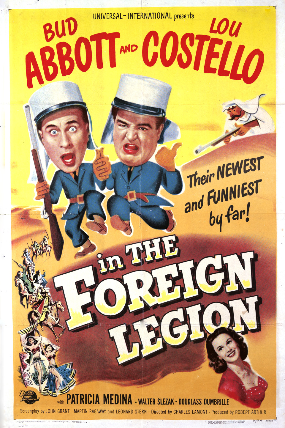 image Abbott and Costello in the Foreign Legion Watch Full Movie Free Online