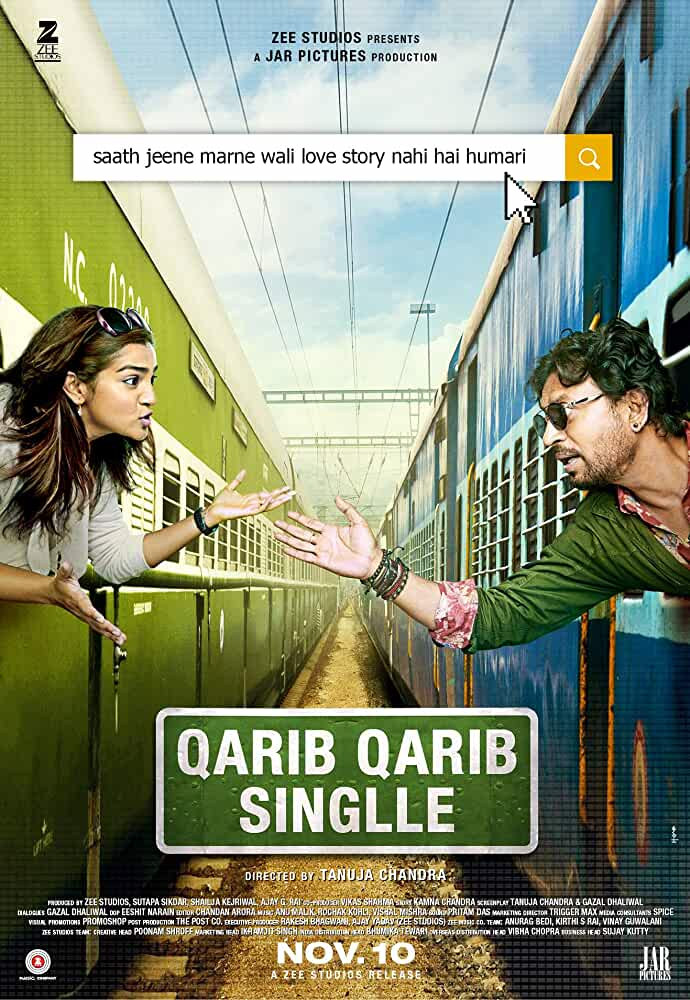 Qarib Qarib Singlle 2017 Movie Trailer Irrfan Khan