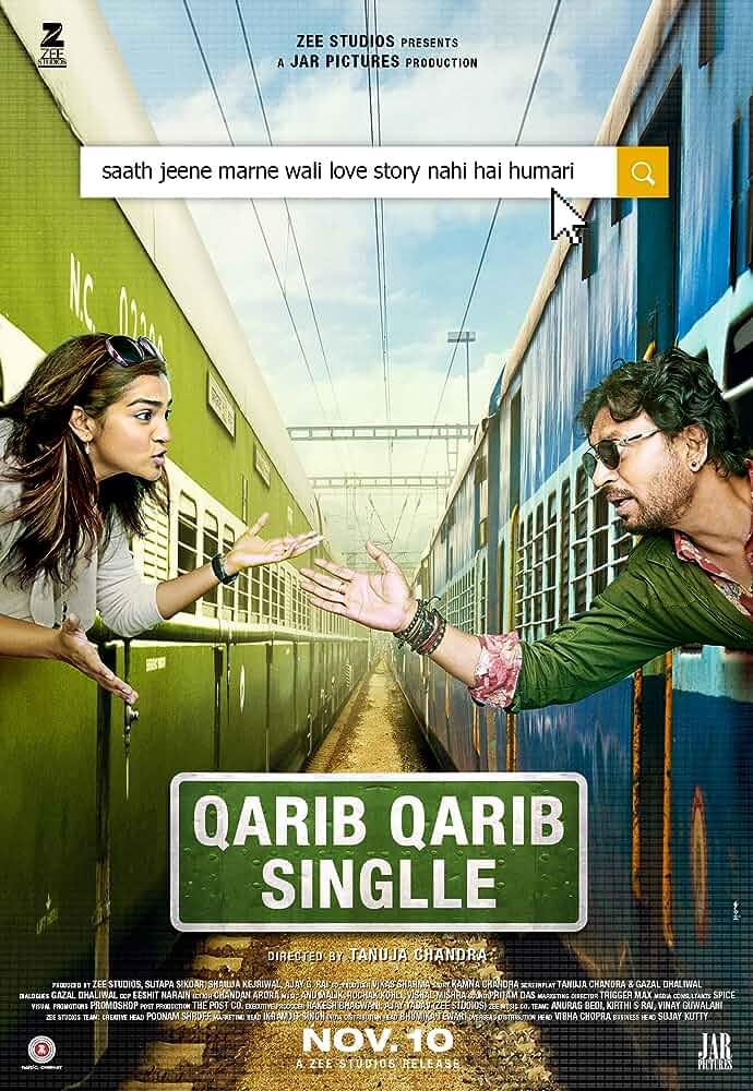 Qarib Qarib Single (2017) Movie 3gp Mp4 HD 720p PC HD Movies365.cc