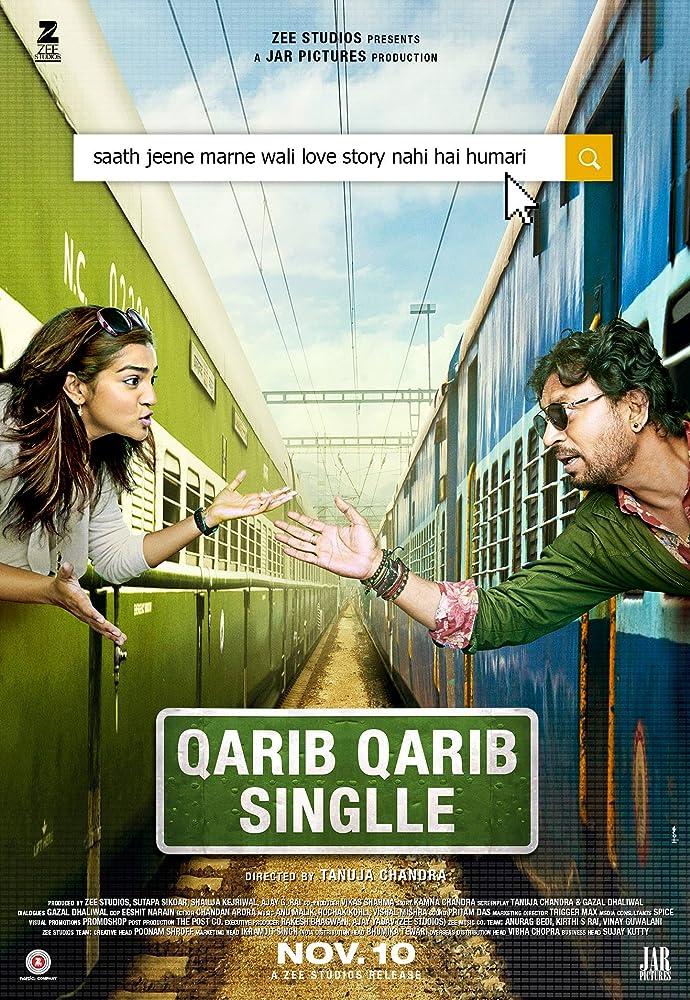 Qarib Qarib Singlle 2017 Hindi 720p HDRip x264 AAC - Hon3yHD