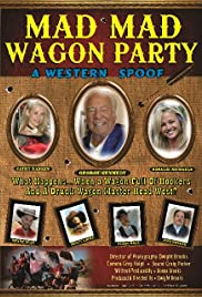Mad Mad Wagon Party Poster