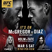 UFC 196: McGregor Vs Diaz (2016)