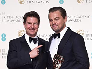 Tom Cruise and Leonardo DiCaprio at an event for The EE British Academy Film Awards (2016)