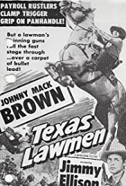 Texas Lawmen Poster