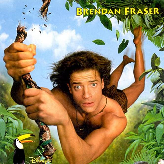 Brendan Fraser in George of the Jungle (1997)