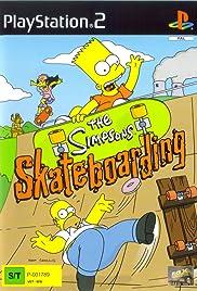 The Simpsons: Skateboarding Poster