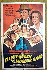 Ellery Queen and the Murder Ring Poster