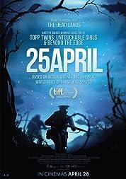 25 April poster