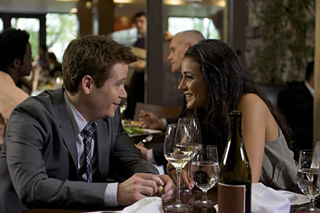 Emmanuelle Chriqui and Kevin Connolly in Entourage (2004)