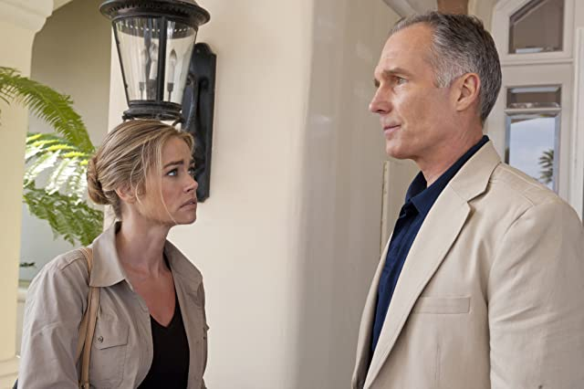 Denise Richards and Patrick St. Esprit in Blue Lagoon: The Awakening (2012)