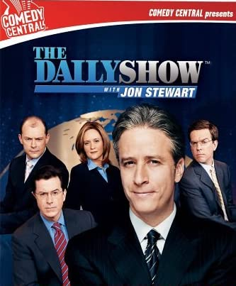 Stephen Colbert, Jon Stewart, and Samantha Bee in The Daily Show (1996)