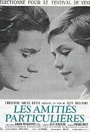 Les amitiés particulières(1964) Poster - Movie Forum, Cast, Reviews