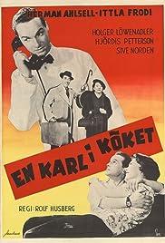 En karl i köket Poster