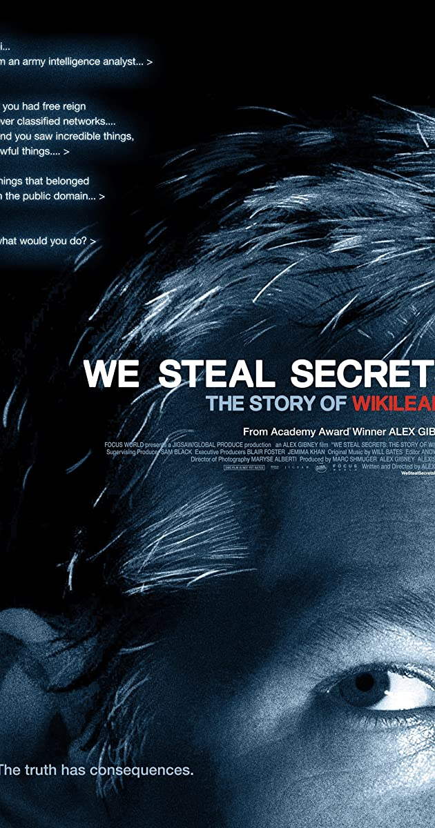 "Mes vagiame paslaptis: ""WikiLeaks"" istorija / We Steal Secrets: The Story of WikiLeaks (2013) Online"