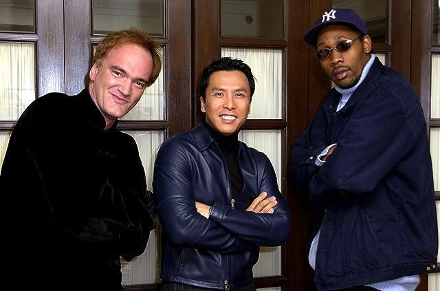 Quentin Tarantino, RZA, and Donnie Yen