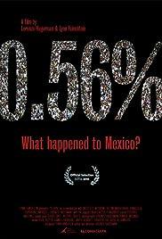0.56% ¿Qué le pasó a México? Poster