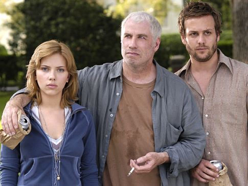 John Travolta, Scarlett Johansson, and Gabriel Macht in A Love Song for Bobby Long (2004)