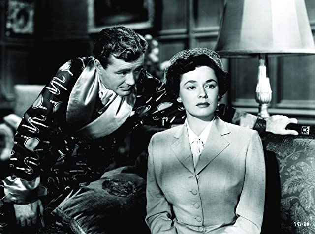 Ruth Roman and Robert Walker in Strangers on a Train (1951)