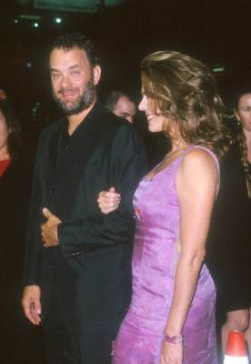 Tom Hanks and Rita Wilson at The Story of Us (1999)