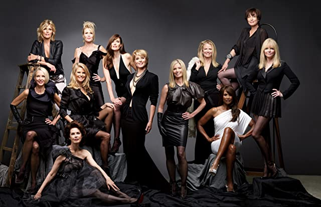 Isabella Rossellini, Christie Brinkley, Paulina Porizkova, Carmen Dell'Orefice, Beverly Johnson, Cheryl Tiegs, and Christy Turlington in About Face: Supermodels Then and Now (2012)