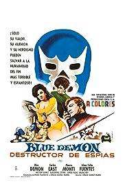 Blue Demon destructor de espias Poster