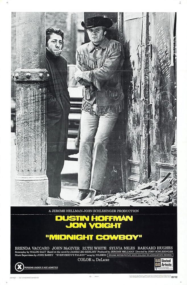 Midnight Cowboy (1969)  MV5BNTgwZmIzMmYtZjE3Yy00NzgzLTgxNmUtNjlmZDlkMzlhOTJkXkEyXkFqcGdeQXVyNjUwNzk3NDc@._V1_SY1000_CR0,0,657,1000_AL_
