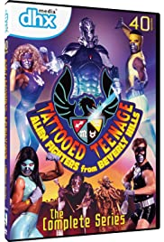 Tattooed Teenage Alien Fighters from Beverly Hills Poster - TV Show Forum, Cast, Reviews