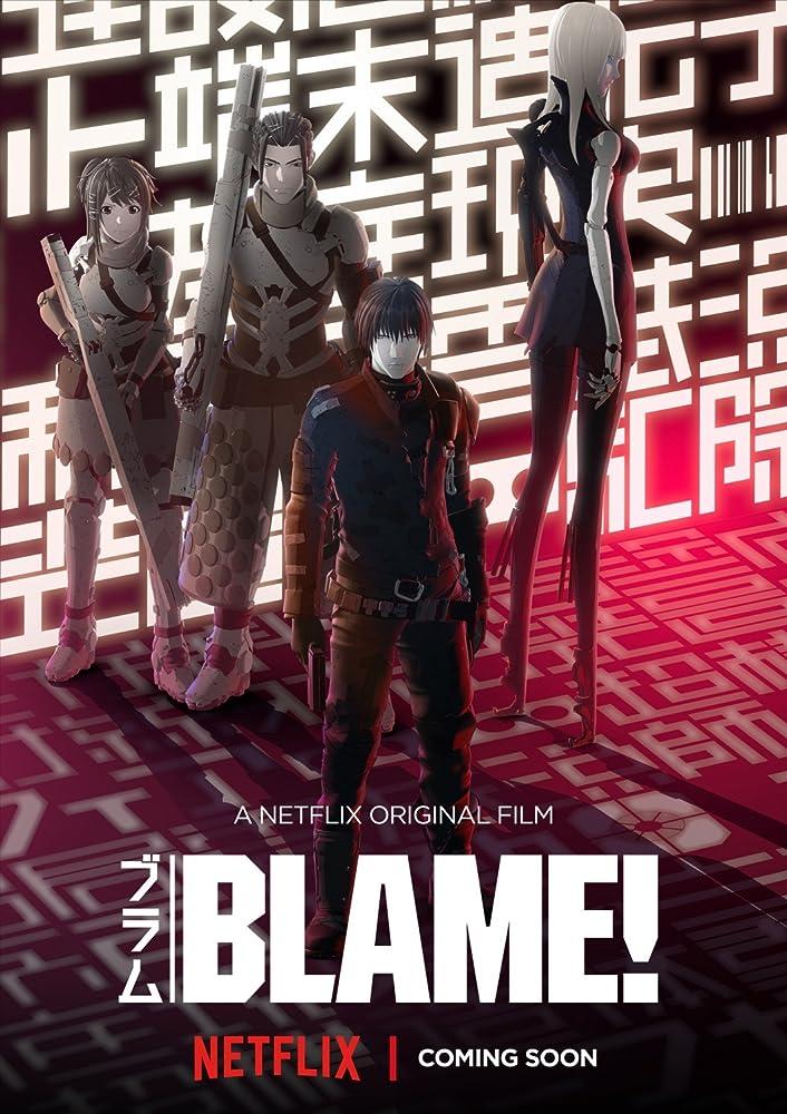BLAME! film de animatie online subtitrat in romana HD