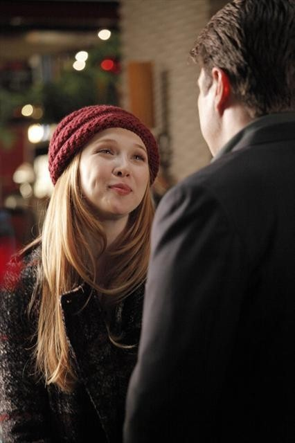 Nathan Fillion and Molly C. Quinn in Castle (2009)