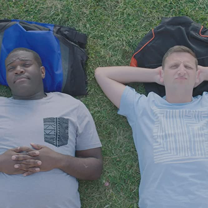 Sam Richardson and Tim Robinson in Detroiters (2017)