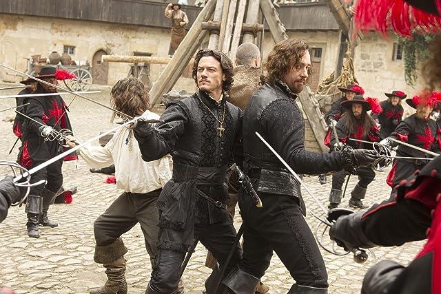 Logan Lerman, Matthew Macfadyen, Ray Stevenson, and Luke Evans in The Three Musketeers (2011)