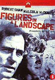 Figures in a Landscape Poster