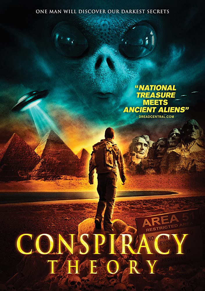 Conspiracy Theory 2016 HDRip x264 300MB