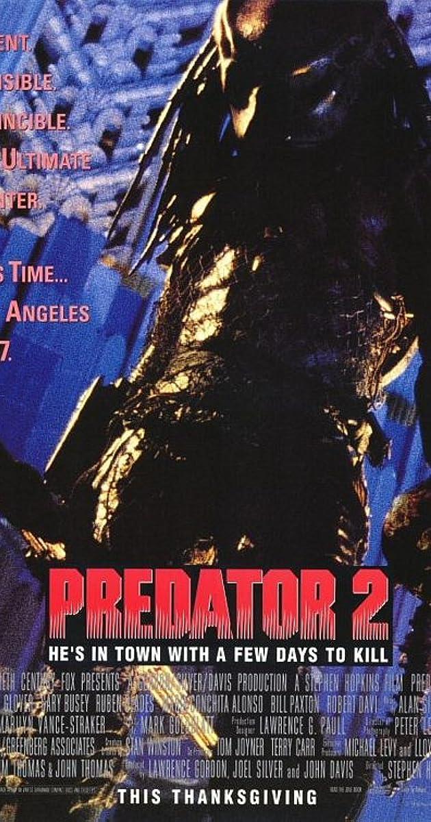 Predator 2 (1990) Bluray 720p | 1080p