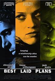 Best Laid Plans(1999) Poster - Movie Forum, Cast, Reviews