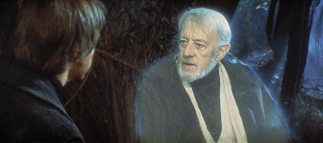 Alec Guinness and Mark Hamill in Star Wars: Episode VI - Return of the Jedi (1983)