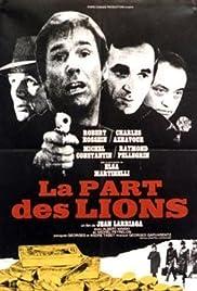 La part des lions Poster