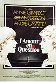 L'amour en question Poster