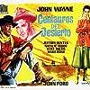 John Wayne, Natalie Wood, and Jeffrey Hunter in The Searchers (1956)