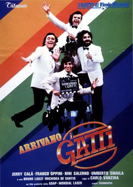 Risultati immagini per ARRIVANO I GATTI ( 1980 ) poster