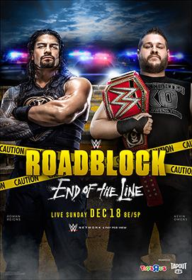 Wwe Roadblock: End Of The Line full movie streaming